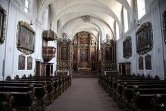 Schonau abbotskloster, Tyskland Arkivfoto