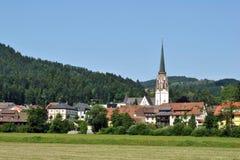 Schonau im Schwarzwald - svart skog Royaltyfri Foto