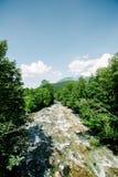 Schonau Konigsee del fiume della montagna di Schrainbach Fotografie Stock Libere da Diritti