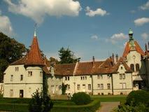 Schonborn宫殿在Chynadiyovo,喀尔巴汗乌克兰 库存图片