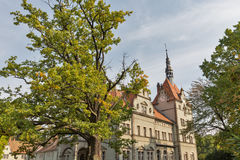 Schonborn Palace in Chynadiyovo, Ukraine. Royalty Free Stock Image
