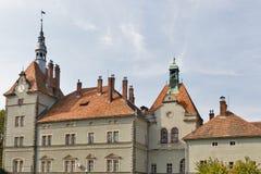 Schonborn Palace in Chynadiyovo, Ukraine. Stock Images
