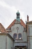 Schonborn Palace in Chynadiyovo, Ukraine. Stock Image