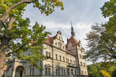 Schonborn Palace in Chynadiyovo, Ukraine. Royalty Free Stock Photos