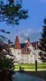 Schonborn-Palast nahe der Stadt von Mukacheve im Zakarpattia r stockbilder