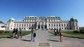 Schonbrunn宫殿 免版税库存照片