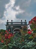 Schonbrunn,维也纳玫瑰园  免版税库存照片