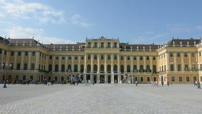 Schonbrunn building in Vienna stock video footage