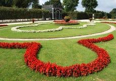Schonbrunn castle gardens Royalty Free Stock Photo