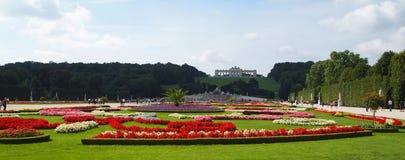 Schonbrunn castle gardens Stock Image