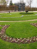 Schonbrunn castle gardens Stock Photo