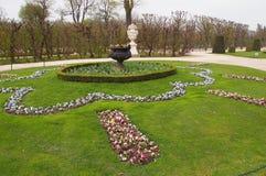 Schonbrunn castle gardens Stock Images