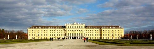 Schonbrunn castle in Wien, Austria Royalty Free Stock Images