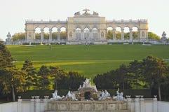 schonbrunn complexe Vienne de gloriette Images stock