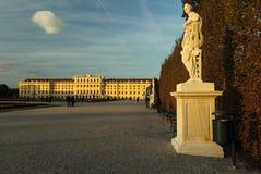 Schonbrunn garden Royalty Free Stock Image