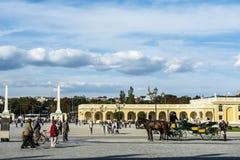 Schonbrunn garden, Vienna Royalty Free Stock Photos