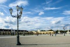 Schonbrunn garden, Vienna Royalty Free Stock Image