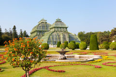 Schonbrunn Garden in Vienna, Austria Royalty Free Stock Images