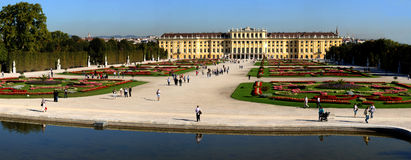 Schonbrunn gardens Stock Photos