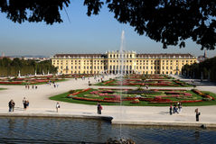 Schonbrunn gardens Royalty Free Stock Photo