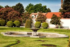 Schonbrunn Gardens in Vienna Stock Photos