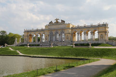 Schonbrunn Gloriette Vienna Royalty Free Stock Photos