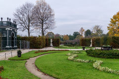 Schonbrunn ogródu kąt Zdjęcie Royalty Free