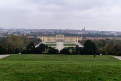 Schonbrunn ogródy i pałac Obraz Royalty Free