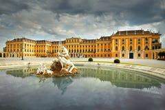 Schonbrunn pałac Wiedeń, Austria obraz royalty free