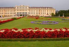 schonbrunn pałacu. obraz stock