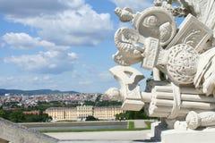 Schonbrunn pałac Zdjęcia Royalty Free