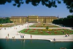 schonbrunn pałacu. Obrazy Royalty Free