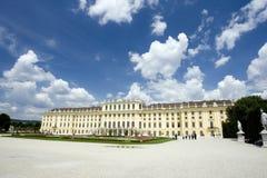 Schonbrunn palace. Palace of schonbrunn in vienna austria Stock Photos