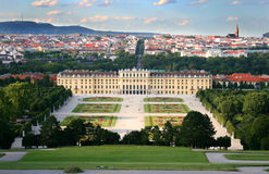 Schonbrunn Palace. View on the Schonbrunn palace in Vienna, Austria Royalty Free Stock Photography
