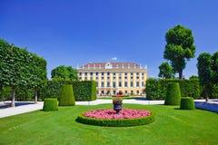 Schonbrunn Palace. Park in Schonbrunn Palace, Vienna, Austria Royalty Free Stock Photography