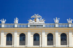 Schonbrunn Palace. Detail of Schonbrunn Palace, Vienna, Austria Royalty Free Stock Photography