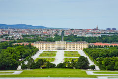Schonbrunn Palace. The famous Schonbrunn Palace in Vienna, Austria Stock Photography