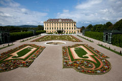 The Schonbrunn Palace Stock Images
