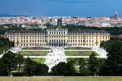 The Schonbrunn Palace Stock Photography