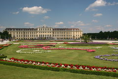 Schonbrunn Palace. (German: Schloss Schönbrunn) in Vienna is one of the most important cultural monuments in Austria and since the 1860s has also been one of Royalty Free Stock Photo