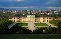 Schonbrunn Palace. Vienna, Austria- View from Gloriette Stock Photography