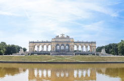 Schonbrunn Palace Garden Gloriette Royalty Free Stock Photos