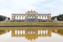 Schonbrunn Palace Garden Gloriette Royalty Free Stock Images