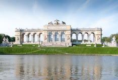The Schonbrunn Palace Garden Gloriette in Vienna Stock Images