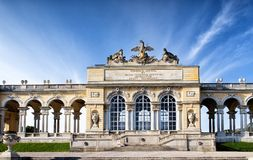 The Schonbrunn Palace Garden Gloriette in Vienna Royalty Free Stock Photos