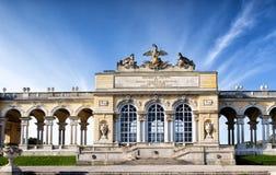 The Schonbrunn Palace Garden Gloriette in Vienna Royalty Free Stock Photos