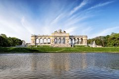 The Schonbrunn Palace Garden Gloriette in Vienna Royalty Free Stock Images