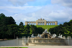 Schonbrunn Palace Garden, Vienna Stock Photos