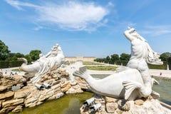 Schonbrunn Palace Garden Royalty Free Stock Photography