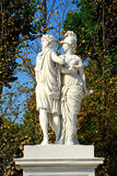 Schonbrunn Palace garden, Vienna, Austria Royalty Free Stock Photos